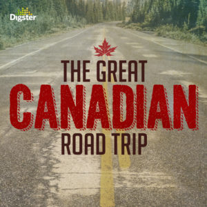 The Great Canadian Road Trip Spotify cover for Digster/Universal Music Canada