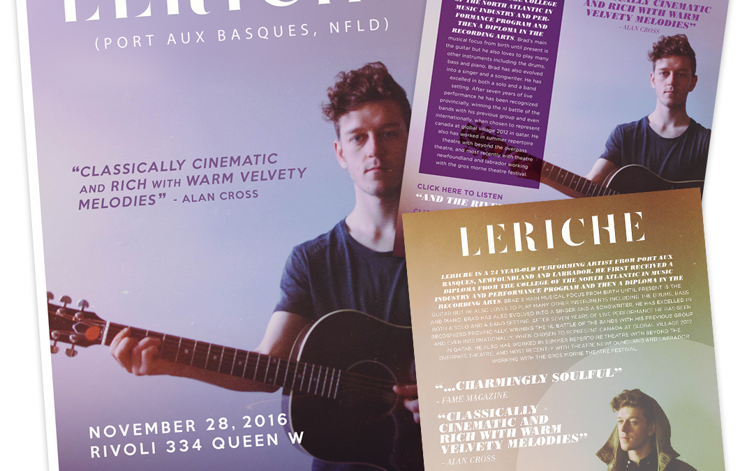 LeRiche – Gig Poster & One Sheet