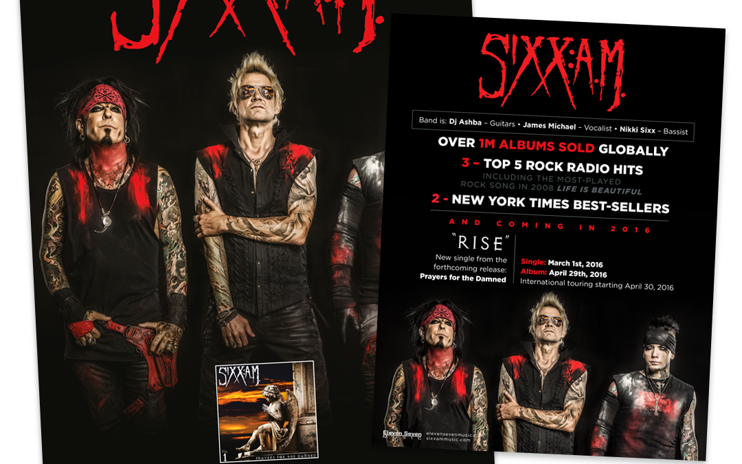 SixxA.M. – Poster & One Sheet